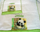 Kit Fralda Urso Panda