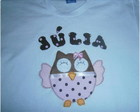camisa personalizada coruja