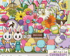 Digital Kit Easter Bunny