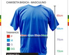 Medidas Camiseta Masculina