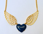 COLAR WINGED HEART