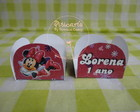 Forminha Doces Minnie Rosa