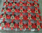 Kit guloseimas mickey e minnie 100 un