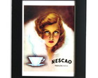 Quadro vintage Nescao
