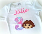 Camiseta Ou Body - Dora