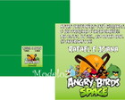 Convite Angry Birds Space