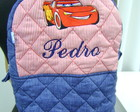 Mochila Infantil Carros Personalizada