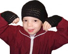 Gorro e Luvas Infantis por Encomenda