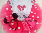 Conjunto tutu Minnie Pink