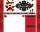 Layout Blog Cod73+Capa facebook