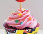 Wapper Cinta Cupcake Carros