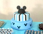 Bolo cenogrfico Mickey Baby