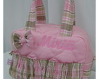 BOLSA P ROSA E BEGE GATA MARIE