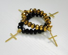 Pulseira Duo Black Gold