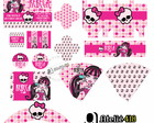Kit festa personalizada - Monster High