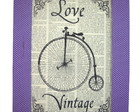 Quadro 35x26 - Love vintage