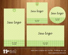 Kit001 com cart�es, tags, etiquetas