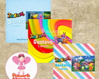 R�tulo Mini Trakinas Backyardigans