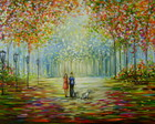 Paisagem Impressionista 60x1.20 Cod 588