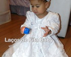 Vestido de Batizado com Bolero