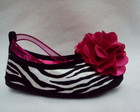 Sapato Zebra com Pink