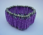 Pulseira Miangas Roxo - Frete Gratis