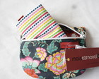 Ecobag com bolsinho - Flor chinesa