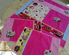 Kit de ch� cupcake 3 pe�as