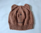 GORRO AMIGO URSO PARDO 6 A 18 MESES