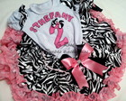 Conjunto Zebra safari Frufru