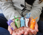 SLUGTERRA lesmas modeladas