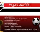 E-card Aniversrio | Times de Futebol