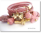 Bracelete Victorian Blush