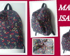 MOCHILA DE CEREJINHA(FRETE GRTIS)