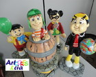 Turma do Chaves em isopor