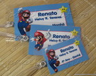 Kit 3 Bagtags - Super Mario