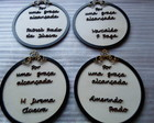 PLACA DECORATIVAS 16 CM
