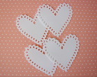 Petite Heart Doily (A231)