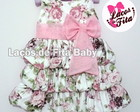 Vestido Balone Floral Rosa