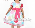 Vestido Infantil Circo