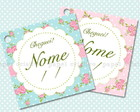 Tag Lembrancinha - Shabby Chic