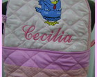 Mochila Infantil Rosa Personalizada