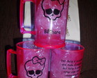 Caneca 400 Ml Acrlico Monster High