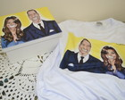 Caixa + Camiseta Caricatura, Casal Real