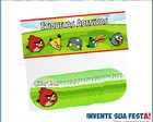 Pacote Etiqueta Adesiva Angry Birds G