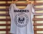 Blusa Gola Canoa Ramones - nude