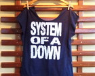 Blusa Gola Canoa System of a Down