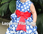 Vestido Infantil Galinha Pintadinha