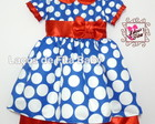 vestido Galinha Pintadinha Princesa