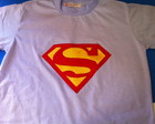 Camiseta Infantil Super Man - Patchwork
